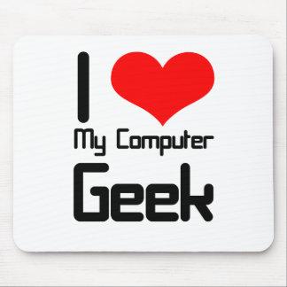 Liebe I mein Computer Geek Mauspads