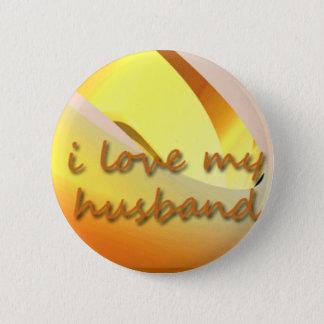 Liebe I mein Ehemann-Button Runder Button 5,7 Cm