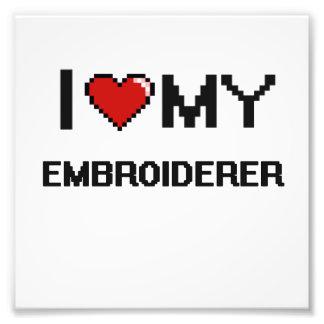 Liebe I mein Embroiderer Photos