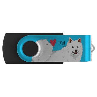 Liebe I mein Eskie USB Stick