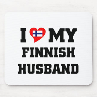 Liebe I mein finnischer Ehemann Mauspad