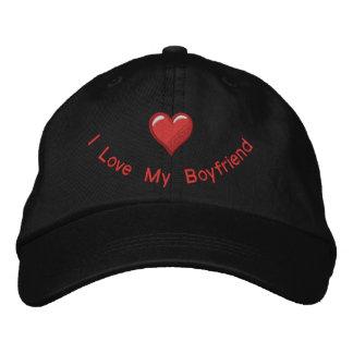 Liebe I mein Freund Bestickte Kappe