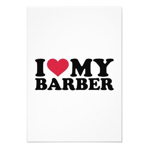 Liebe I mein Friseur Individuelle Einladung