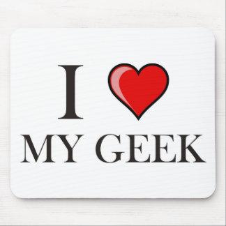 Liebe I mein Geek Mauspad