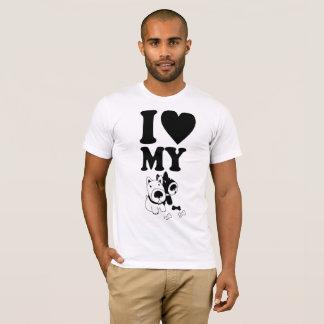 Liebe I mein Hund T-Shirt