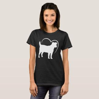 Liebe I mein Jack-Russell-Terrier-Shirt T-Shirt