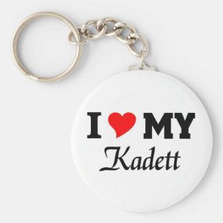 Liebe I mein Kadett Standard Runder Schlüsselanhänger