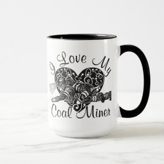 Liebe I mein Kohlenbergmann Tasse