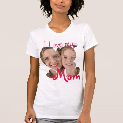 Liebe I mein kundenspezifischer Foto-T - Shirt der