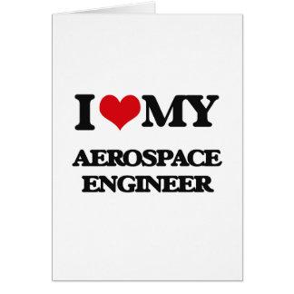 Liebe I mein Luftfahrtingenieur Karte