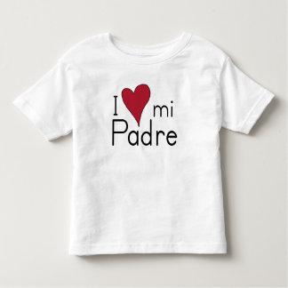 Liebe I mein Padre Kleinkind T-shirt