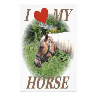 Liebe I mein Pferd Briefpapier