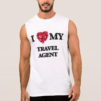 Liebe I mein Reise-Agent Ärmelloses Shirt