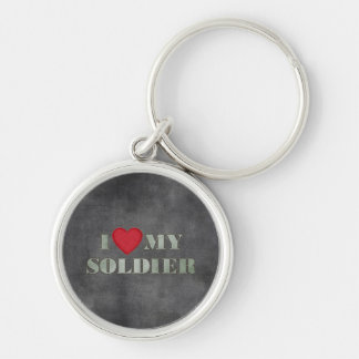 Liebe I mein Soldat Schlüsselanhänger