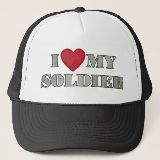 Liebe I mein Soldat Truckerkappe
