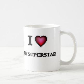 Liebe I mein Superstar Kaffeetasse