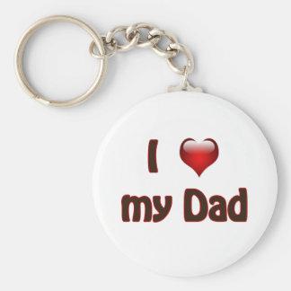 Liebe I mein Vati Schlüsselanhänger