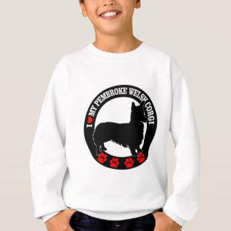 Liebe I mein Walisercorgi Sweatshirt