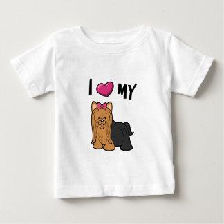 Liebe I mein Yorkie Baby T-shirt