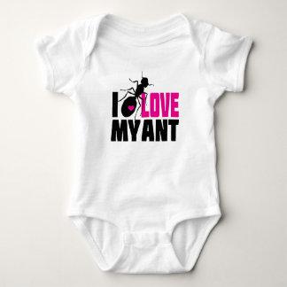 Liebe I meine Ameise (Tante) - lustiger Baby Strampler