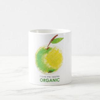 Liebe I meine Äpfel Bio Kaffeetasse