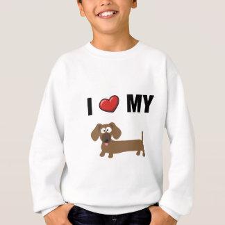 Liebe I meine Dackel Sweatshirt