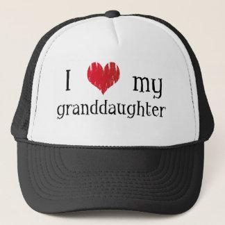 Liebe I meine Enkelin Truckerkappe