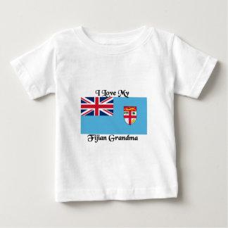Liebe I meine Fijian-Großmutter Baby T-shirt