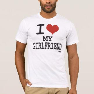 Liebe I meine Freundin T-Shirt