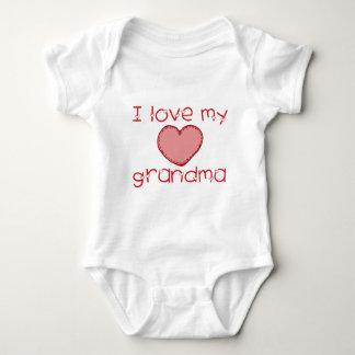 Liebe I meine Großmutter Baby Strampler