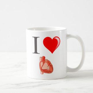 Liebe I meine Herzen Kaffeetasse