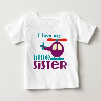 Liebe I meine kleine Schwester Baby T-shirt