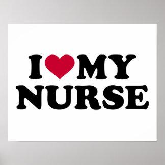 Liebe I meine Krankenschwester Poster