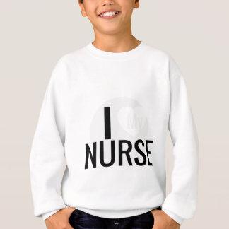 Liebe I meine Krankenschwester Sweatshirt