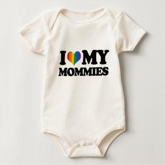 Liebe I meine Mamas Baby Strampler