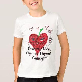 Liebe I meine Mamma.  Sie hat Schilddrüsenkrebs T-Shirt