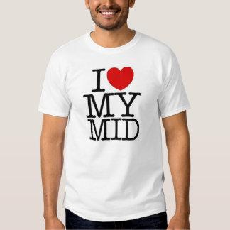 Liebe I meine mittlere Öffentlichkeit Hemden