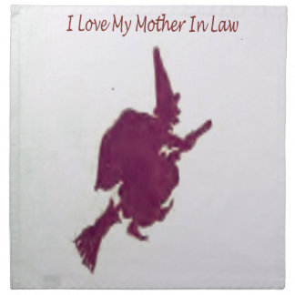 Liebe I meine Mutter in law1 Serviette