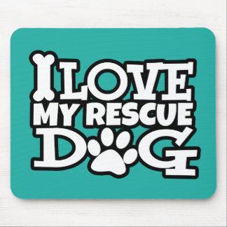 Liebe I meine Rettungshundemausunterlage, viele Mousepad