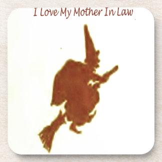 Liebe I meine Schwiegermutter Untersetzer