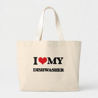 Liebe I meine Spülmaschine Taschen