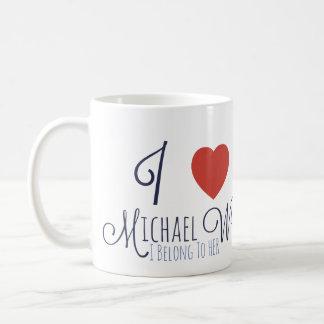Liebe I Michael-Wanderer - ich gehöre ihr Kaffeetasse