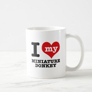 Liebe I MINIATUR-ESEL Kaffeetasse