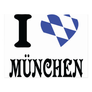 Liebe I München Ikone Postkarten