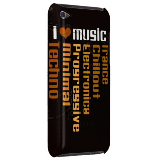 Liebe I Musik iPod Touch Etuis