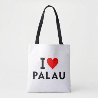 Liebe I Palau-Land wie Herzreisetourismus Tasche