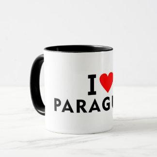 Liebe I Paraguay-Land wie Herzreisetourismus Tasse