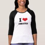 Liebe I Piraten T-Shirts