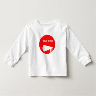 Liebe I Pizza-Shirt Kleinkind T-shirt