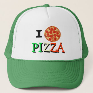 Liebe I Pizza Truckerkappe